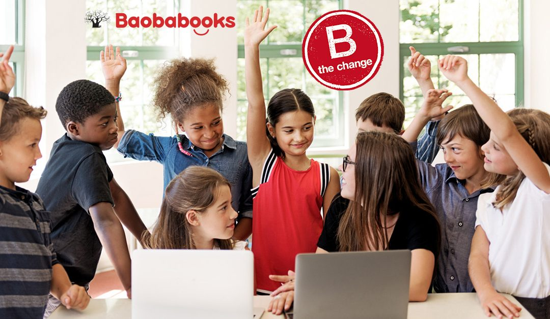 Baobabooks Joins B Corp™ Community Focused Using Business as a Force for Good in the World
